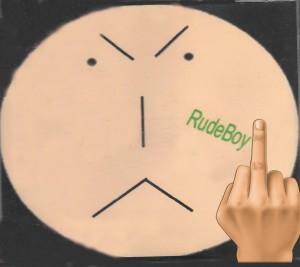 rudeboy_OZ middle finger icon